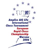 Logo del VI Torneo Internacional de Ajedrez Rápido Amplico AIG