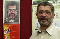 El ajedrecista y coleccionista de ajedrez Gregorio Hernández Santana