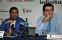 Anand y Kramnik se enfrentarán por el Campeonato Mundial de Ajedrez en octubre de 2008 en Bonn (Alemania)