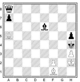 Problema ejercicio de ajedrez número 561: Estudio de los hermanos V. y M. Platov (1905)