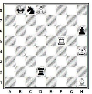 Problema ejercicio de ajedrez número 361: Estudio de A. A. Troitzky, 1934
