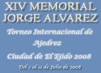 XIV Memorial Jorge Alvarez – Torneo Internacional de Ajedrez Ciudad de El Ejido 2008