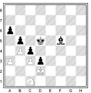 Problema de ajedrez número 456: Lublinsky - Levin (Moscú, 1939)