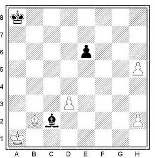 Problema de ajedrez número 453: Estudio de A. P. Kazantzev (1950)