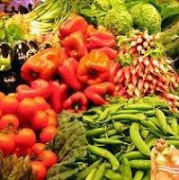 Verduras, hortalizas y frutas en medicina y alimentación natural