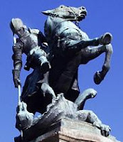 San Jorge y el dragrón, V Torneo de Ajedrez San Jorge Cáceres
