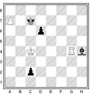 Ejercicio o problema de ajedrez 481: Estudio de Z. M. Birnov (1947)