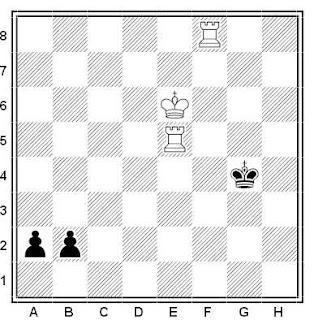 Problema de ajedrez número 483: Estudio de Matoush (1981)