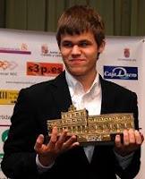 Magnus Carlsen vencedor del XXII Magistral de Ajedrez Ciudad de León
