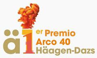 Cartel del certamen de arte I Premio ARCO 40 Häagen-Dazs