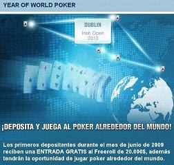 Estrategias poker y la World Poker Sponsorship