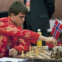 Magnus Carlsen en el Supertorneo de Ajedrez de Pearl Spring 2009