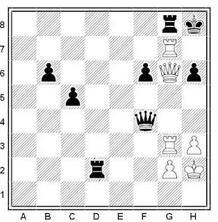 Problema ejercicio de ajedrez número 536: Moonen - Euwe (Holanda, 1981)