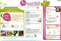 Cosmética biológica MySweetBio en medicinas y medicina natural