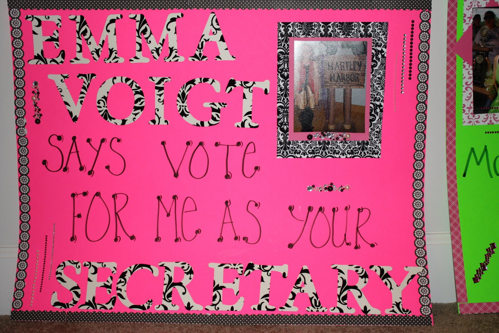 Student Council Campaign Posters Secretary Student council elections ...