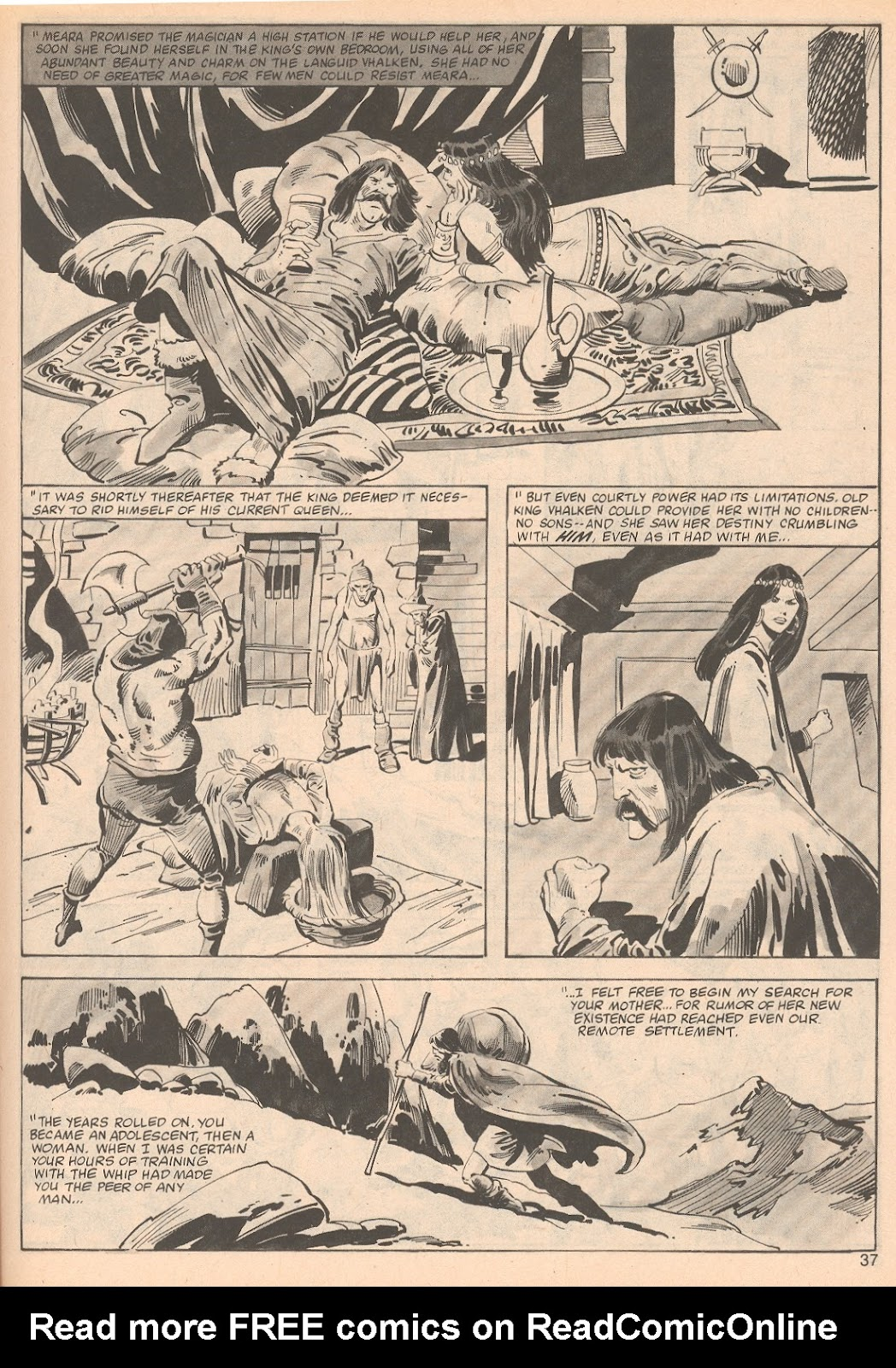 The Savage Sword Of Conan Issue #70 #71 - English 37
