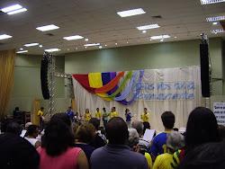 Cantando na Mariápolis de Aracaju