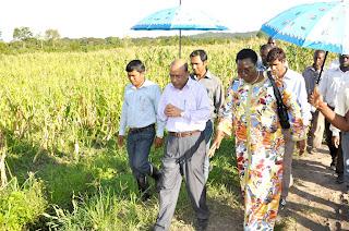 Uganda Finance Minister visits BRAC's agriculture program
