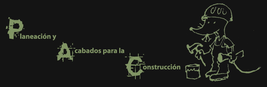 Planeación y Acabados para la Construcción