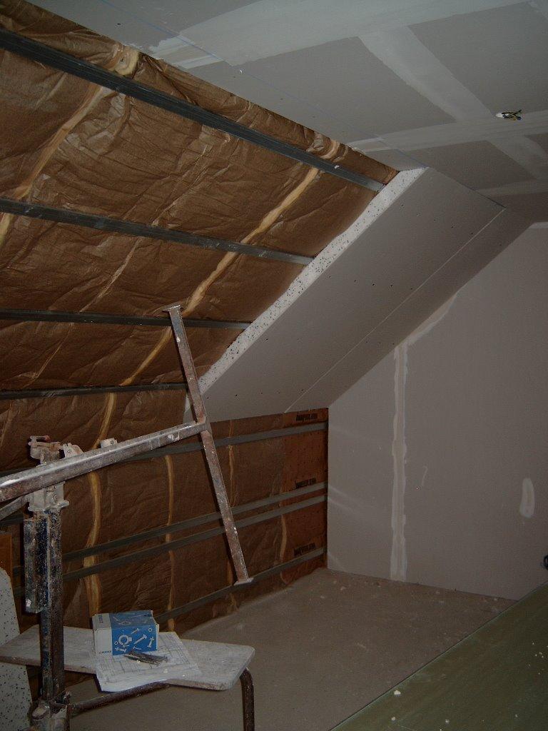 Am liorer isolation sous toiture existante en laine de for Laine de verre sous toiture