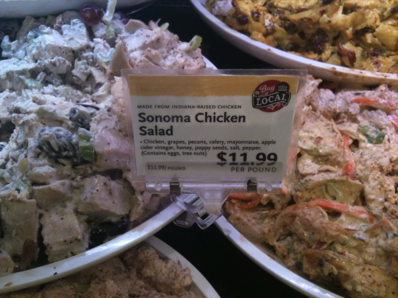 i'll cook if you clean up: Sonoma Chicken Salad (NOT homemade)