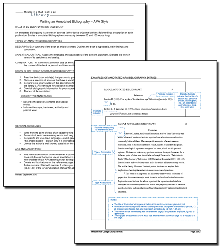 mla annotated bibliography template 2011 An annotated bibliography is a list of citations to books, articles, and  this  example uses mla style (mla handbook, 8th edition, 2016) for the.