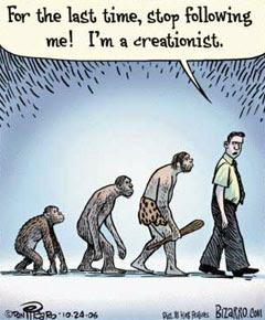 Evoluzionisti e creazionisti