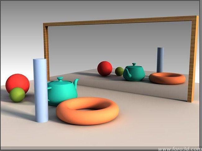 Fisica ii qu es una reflexi n especular for Espejo que no invierte la imagen