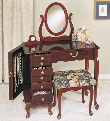 Jewelry Armoire Maple - Compare Prices, Reviews and Buy at Nextag