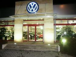 Entree d'un garage VW en Allemagne