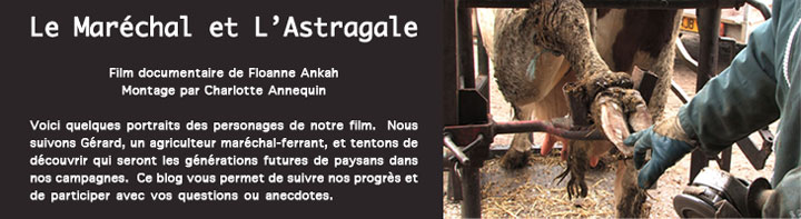 Le Marchal et l&#39;Astragale
