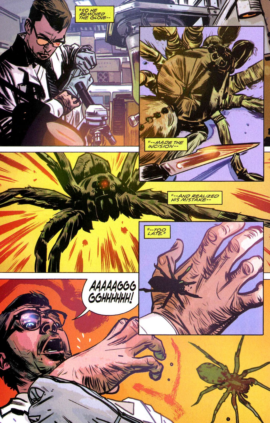 Cool Comic Book Pages: J. Michael Straczynski, Tommy Lee Edwards ...