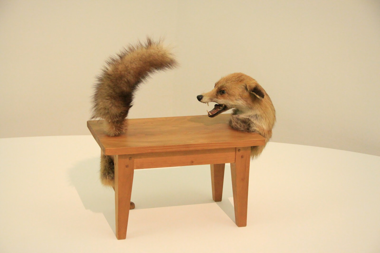 My scenic byway favorite weird art at the pompidou paris for Weird tables