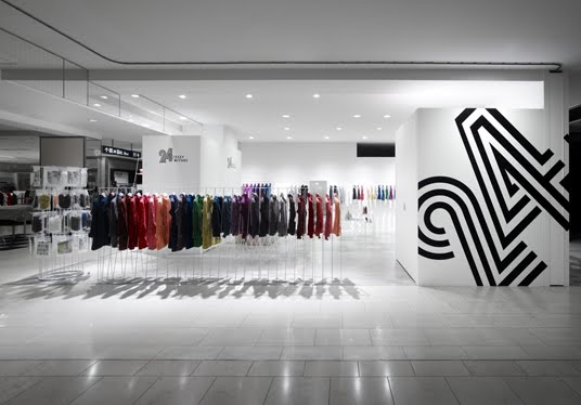 Issey miyake store by nando for Discovery 24 shop