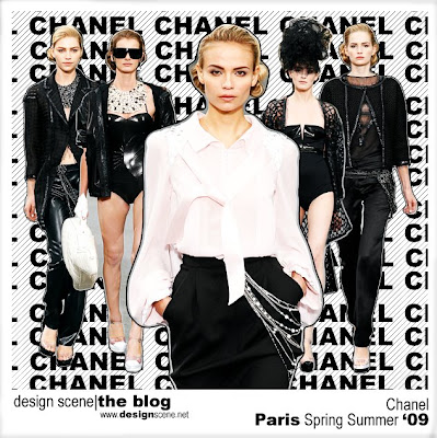 Paris Spring Summer 2009: Chanel