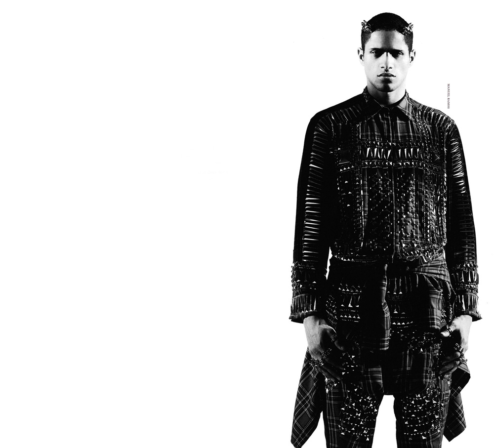 The Making Of Givenchy Man In Arena Homme Design Scene