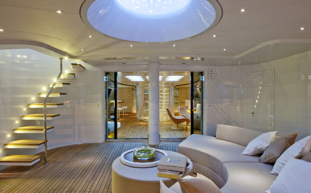 Luxury Yacht By Foster Partners