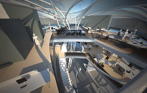 Sci Fi Architecture By B U Architects