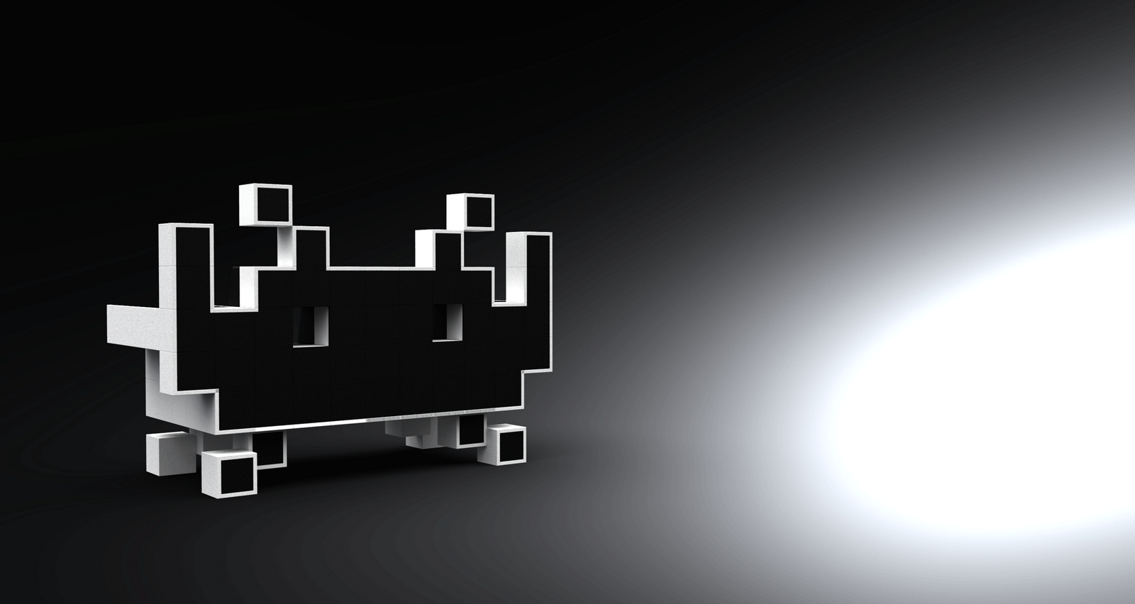 space invader couch by igor chak. Black Bedroom Furniture Sets. Home Design Ideas