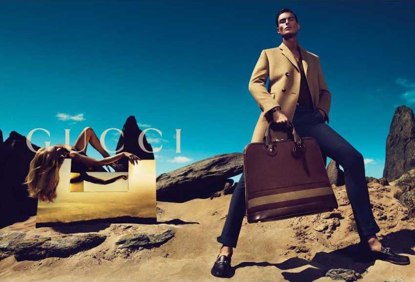 Nikola Jovanovic for Gucci Fall Winter 2010 Campaign