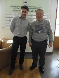 IMD visit with program leader Viktor