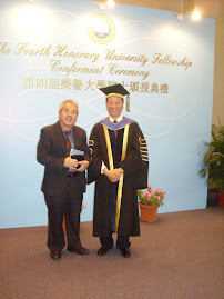 The Fourth Honorary University Fellowship Conferment Ceremony