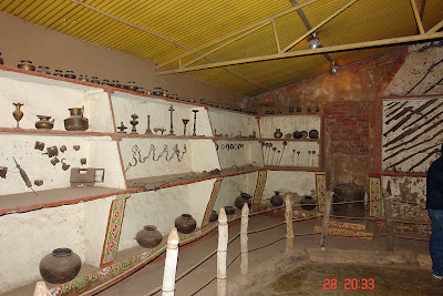 Chokhi Dhaani in Jaipur - The exhibit hall hosting utensils and machines