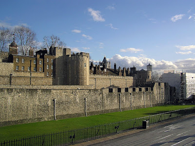 The beautiful architecture of Tower of London