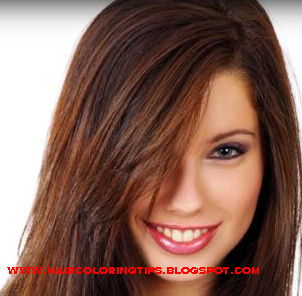Brown hair with red highlights ~ Prom Hairstyles