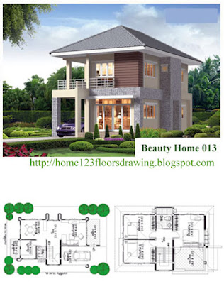 House Drawing Plans For Elegant Small Home Designs