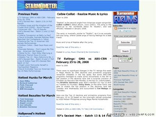 Starmometer.com : Your Total Entertainment Blog