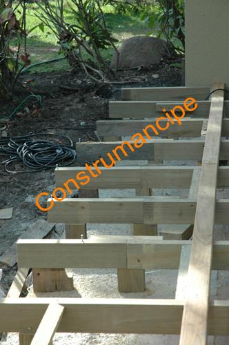Estructura para deck