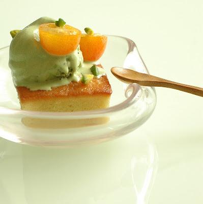 KUIDAORE: Matcha White Chocolate Ice Cream & Kumquat Pound ...