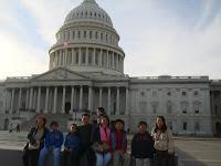 Sagada Igorot Family at the US Capitol